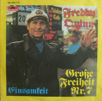 "7"" 1984 IN MINT- ! FREDDY QUINN : Grosse Freiheit Nr. 7"