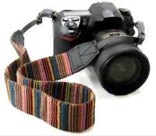 Retro / Vintage style Shoulder Strap with Stripe Pattern for SLR / DSLR Cameras