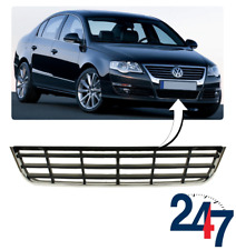 NEW VOLKSWAGEN PASSAT B6 2005 - 2010 FRONT LOWER CENTER GRILL WITH CHROME TRIM