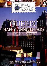 Culinary Travels Quebec-Happy Anniversar DVD