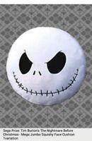 "Sega Prize:The Nightmare Before Christmas - Squishy 18"" Plush Pillow Japan"