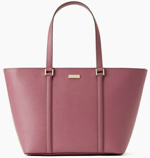 NWT Kate Spade Jules Saffiano Leather Extra Large Tote Dark Lilac Newbury Lane F