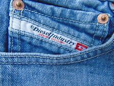 Diesel Industry mens jeans size 30x24 Made in Italy