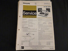 Original Service Manual Philips 22 GF 908