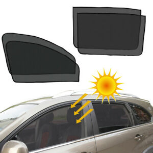 4X Magnetic Car Side Front Rear Window Sun Shade Cover Sunshade UV Protection