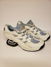 Z-COIL Freedom 2000 Leather Shoes - Pain Relief Blue/White Mens Size 10 CLEAN!