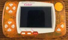 Bandai WonderSwan Color console Orange