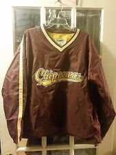 Central Michigan Chippewas Pullover Windbreaker Adult L Fire Up Chips CMU NWOT