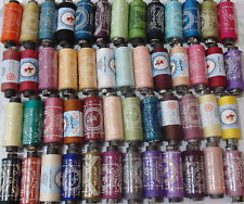 50 Sewing All Purpose 100% Pure Cotton Spools Colours Reels All Purpose Threads