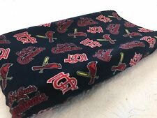 St. Louis Cardinals Baby Changing Pad Cover for Nursery