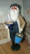 Byers Choice Nautical Santa with Sail Boat and Bucket with Shells 2020 *