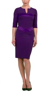 Brand new without the tags designer dress purple colour size 8