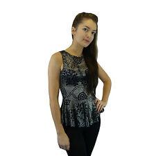 Polyester Round Neck Sleeveless Dresses Mini