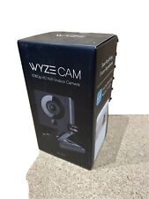 WYZE 1080p Indoor  Wi-Fi Smart Home Camera +32GB SD Card BLACK EDTION NEW