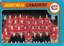 1979-80 Topps Montreal Canadiens Team #252