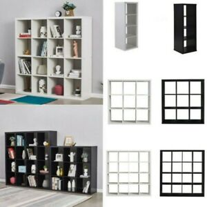 2, 4, 9,16 Cube Bookcase Shelving Display Shelf Storage Unit Wood Cabinet