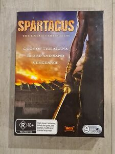 Spartacus The Uncut Collection DVD Box Set Season 1 2 Gods of the Arena