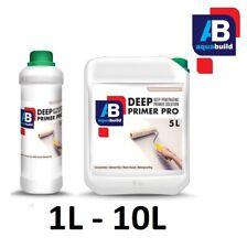 1L-10L DEEP PRIMER PRO Water-based Waterproof Deep Penetrating White Undercoat
