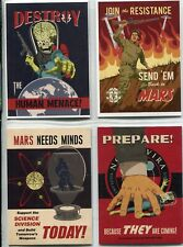Mars Attacks Invasion Complete 4 Card Chase Set Join The Fight