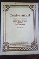 Chopin - Auswahl Klavier  Klavierkompositionen für Unterricht Noten K. Zuschneid