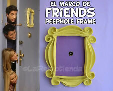 Friends tv serie 🎁 yellow frame peephole monica's door el marco de friends