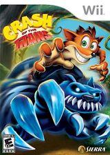 Crash of the Titans - Nintendo  Wii Game