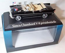Simca Chamboard V-8 Limousine Presidential car Kennedy Paris 1961 New in Box