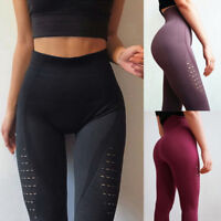 Sport Women Seamless Leggings Gym Yoga Running Pants Training Fitness Sportswear