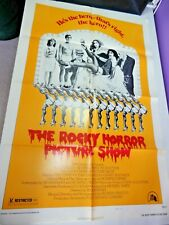 Vintage Rocky Horror 1975 Style B 75/127 Movie Poster One Sheet 27x41