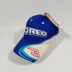 2002 Dale Earnhardt Jr #3 Nascar Racing Oreo Cookie Hat Strapback - NWT