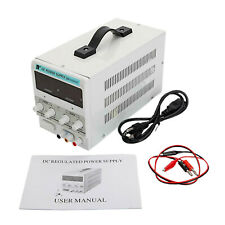 Regulated Power Supply Benchtop Dc Power Supply Variable Digital Display