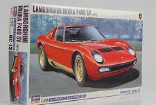 1971 Lamborghini Miura P400 SV Kit Bausatz 1:24 Hasegawa