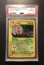 Pokemon Card PSA 10 Ledian Holol - Skyridge - Gem Mint #H14/H32