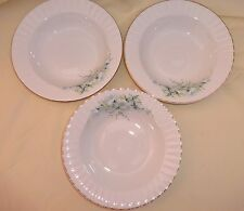 Royal Stafford Bone China Apple Blossom Time 3 Soup Cereal Dessert Bowls 8.25""