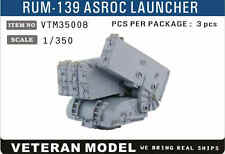 VETERAN 1/350 VTM-35008 RUM-139 ASROC LAUNCHER (3 pcs in Box)