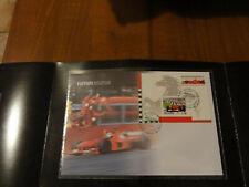 FRANCOBOLLI FERRARI 2000 FORMULA 1 grand prix stamp folder poste italiane f1