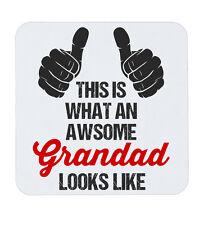 Fantastico SUPER Nonno Dad Nonno Coaster Tappetino Coppa Tè Caffè Bevande
