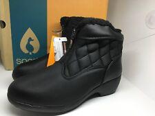 NEW Women's Size  9  Black Sporto Zelda Waterproof Snow Rain Winter Boots NWT