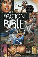 New The Action Bible Hardcover Sergio Cariello Stories Illustrated color