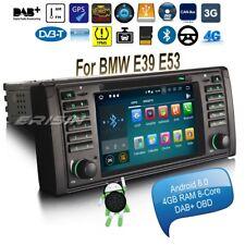 BMW E53 Car Stereo Android 8.0 E39 5er X5 M5 DVD DAB+OBD Wifi BT DVB-T TPMS 7839