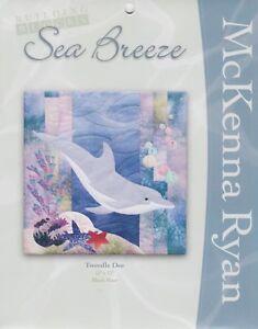Tweedle Dee, McKenna Ryan, Sea Breeze Quilt Block Series, Block 4, Dolphin