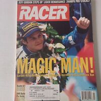 Racer Magazine Jacques Villeneuve's Comeback Run July 1995 060117nonrh3