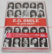 New E.G. SMILE E-girls BEST 2 CD 3 DVD Japan F/S RZCD-86025 4988064860258