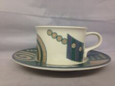 Mikasa Intaglio Life Style  Flat Cup & Saucer