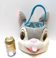 Disney Thumper Bunny Rabbit Easter Basket or Tote Cute Soft For Child or Decor