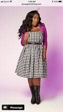 Gingham Pin Up Dress VLV