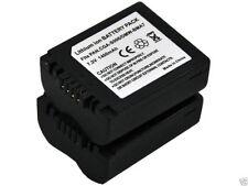 New 2x CGA-S006 Battery + Charger For DMC-FZ7 FZ8 FZ50EES FZ50K FZ28 FZ30 FZ35GK