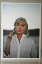 MARILYN MONROE, 1960  Art-Postcard  NEW