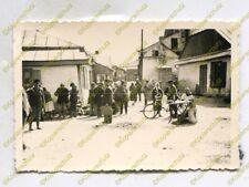 Foto, Wehrmacht, Strassenszene auf dem Markt in Kowel, Ukraine (W)20059