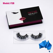 F2B - 100% MINK EYELASH EXTENSIONS - 3D, Luxury, Natural, Reusable, Long Lashes